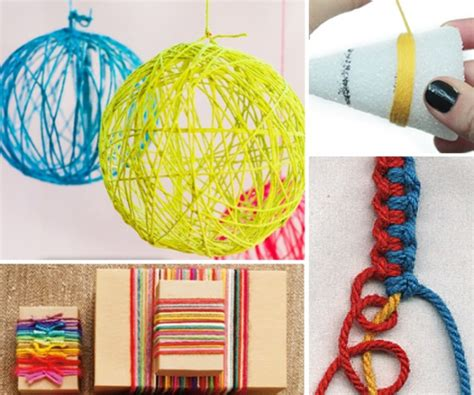 yarn crafts for without knitting yarn crafts without knitting daily