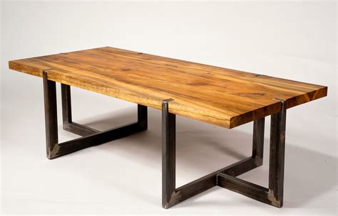 Wood And Metal Furniture Designs Trellischicago