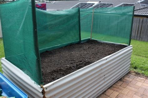 shade cloth for vegetable gardens diy raised garden bed our family projects