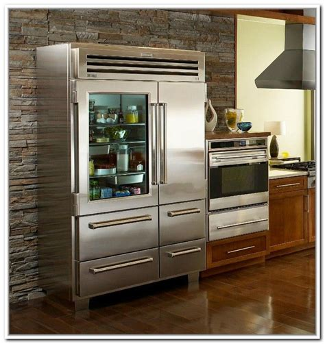 refrigerator with glass door for homes 1000 ideas about glass front refrigerator on