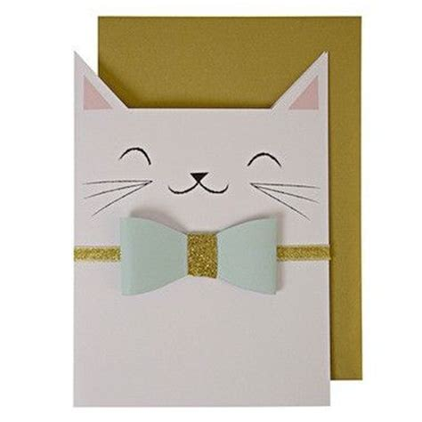 how to make a cat card the 25 best cat cards ideas on