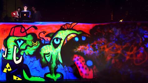 glow in the paint thailand painting live uv neon black light graffiti at thailand