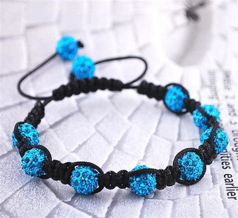 diy bead bracelets blue rhinestone style diy bracelet ideas to try