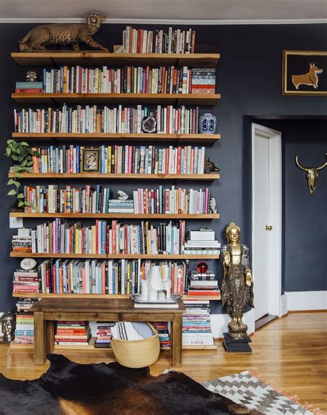 wall mounted bookshelves wood 25 best ideas about wall mounted bookshelves on