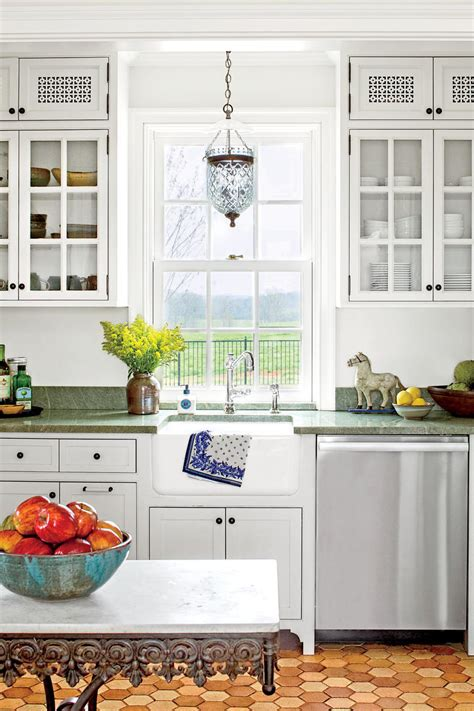 cottage kitchens our best cottage kitchens southern living