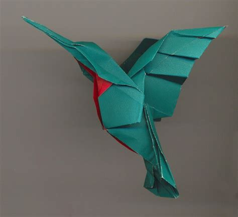 hummingbird origami origami hummingbird pictures freaking news