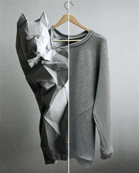 origami clothing line 50 origami inspired fashion styles