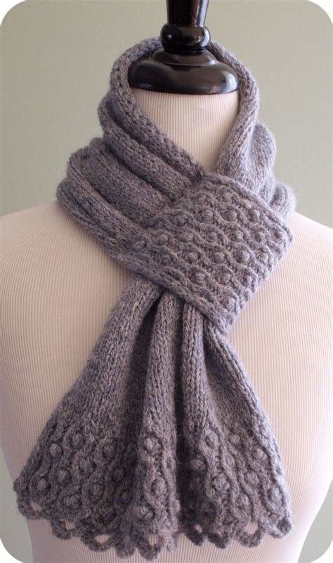 knit scarf patterns drifted pearls scarf knitting pattern pdf from etsy shop