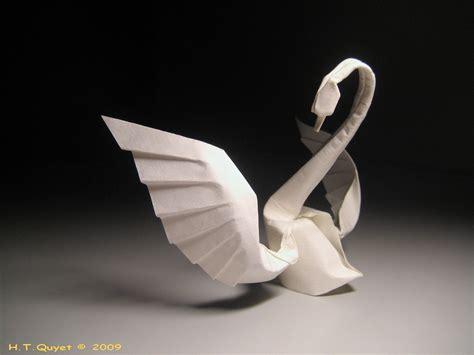 wikihow origami swan 50 fantastic exles of origami work designbeep