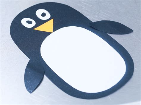 penguin crafts for to make how to make a paper penguin with pictures wikihow