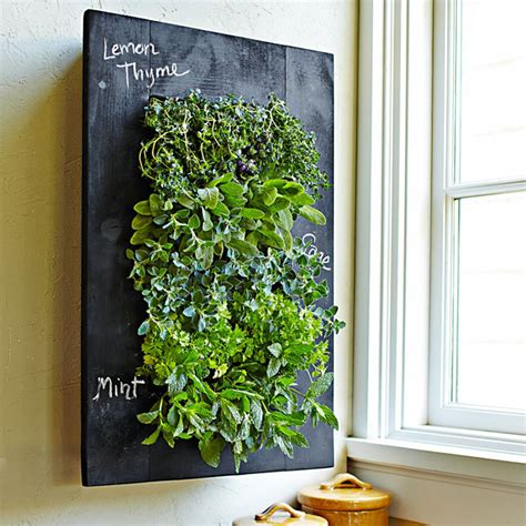 vertical wall planter chalkboard vertical wall planter the green