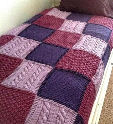 knit quilt patterns 10 free knitting and crochet afghan patterns crochet