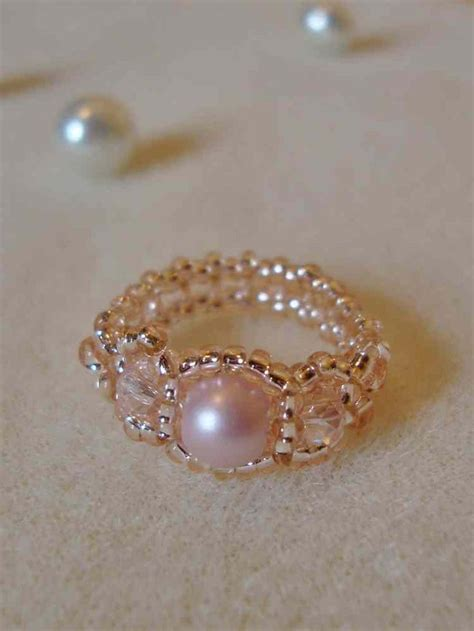 bead ring 17 best ideas about beaded rings on seed bead