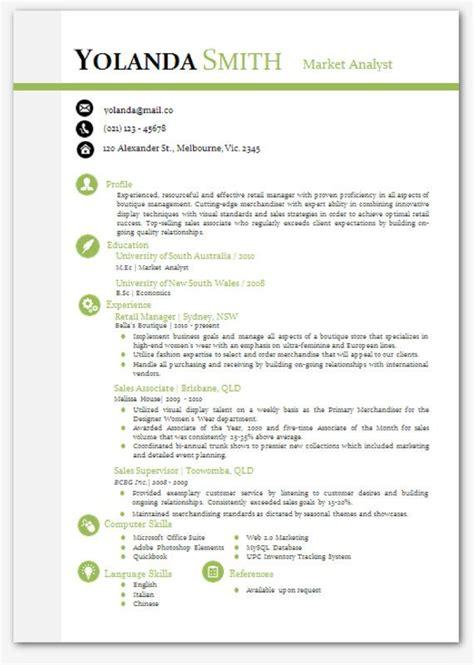 cool looking resume modern microsoft word resume template yolanda smith resume templates