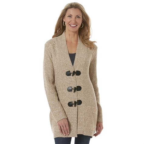 sweaters for womens s toggle sweater marled