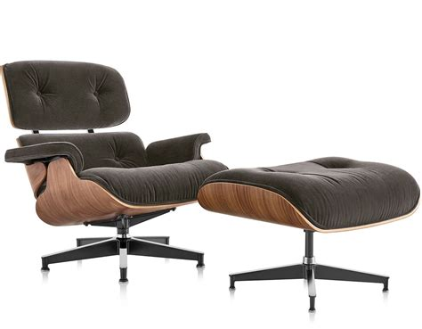 Eames Chair Ottoman by Eames 174 Lounge Chair Ottoman In Mohair Supreme