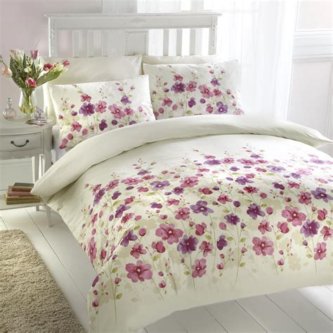 bed covers set floral design duvet cover set pink bed mattress sale