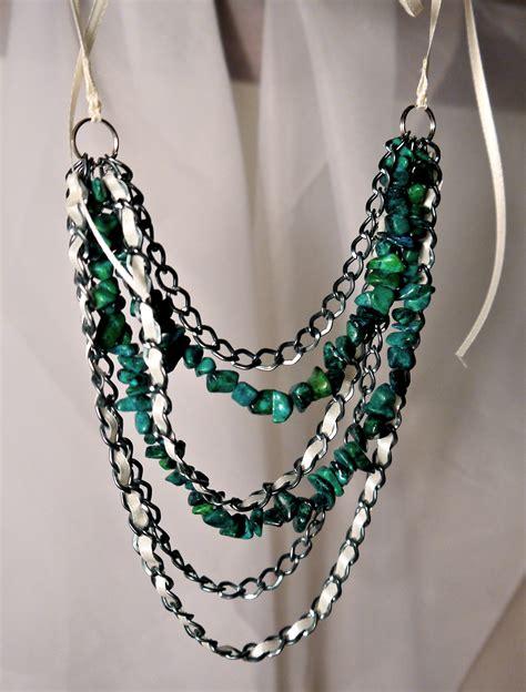 diy beaded necklace diy necklace pumps iron