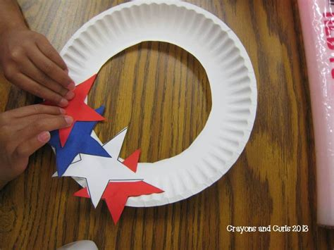 patriotic crafts for crayons curls end of year behavior and patriotic craft