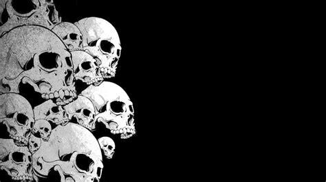 black skull black skull wallpapers wallpaper cave