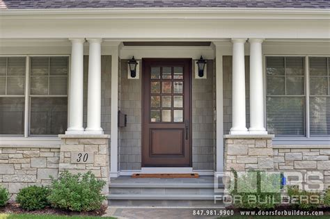 Classic Collection French Solid Wood Front Entry Door