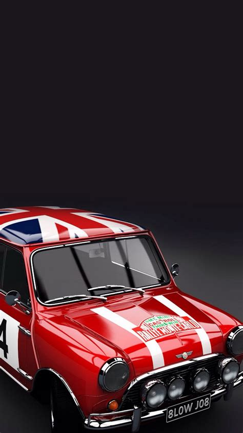 Classic Car Wallpaper Iphone 6 by Mini Cooper Classic Iphone 6 Wallpaper Ipod Wallpaper Hd