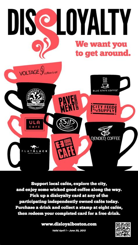 Boston Indie Coffee Shops Unite for Disloyalty Program   Daily Coffee News by Roast Magazine