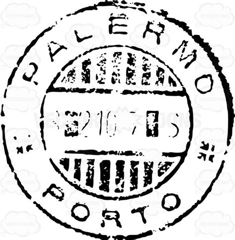 postal cancellation rubber st province of palermo italy sicily rubber st air