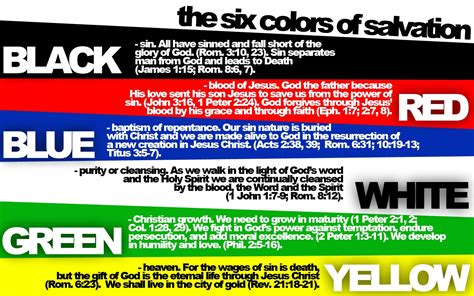 salvation bracelet color meaning colors of salvation graphic preview createblog