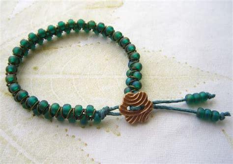 seed bead bracelet tutorial clever jump ring and seed bead bracelet tutorial the