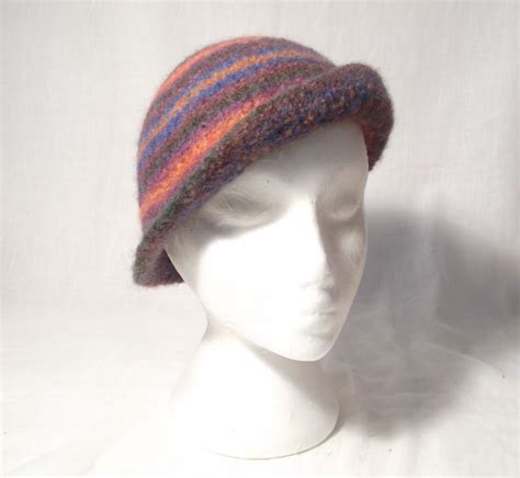 felted knit hat pattern 3 way felt cloche hat by fairall craftsy