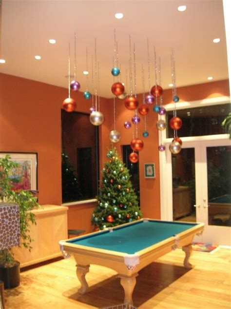 how to hang decorations hang ornaments from the ceiling holidays