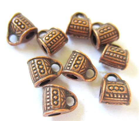 jewelry supplies for 24 copper charm hangers jewelry supplies pendant