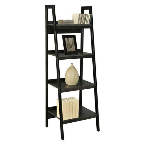 leaning ladder shelves leaning ladder bookshelves plans for office