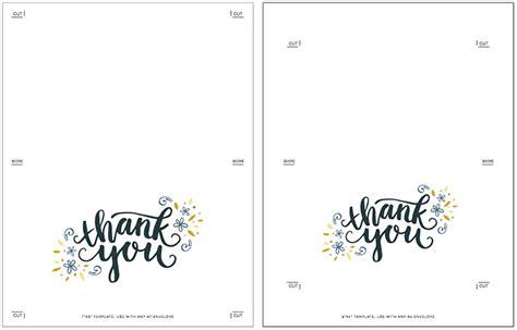 card templates to print free freebie printable thank you card