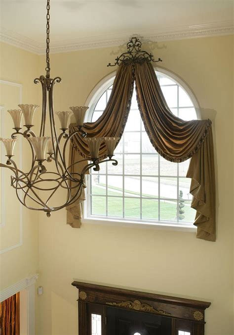 drapes window treatments arched window treatments drapes window treatments design