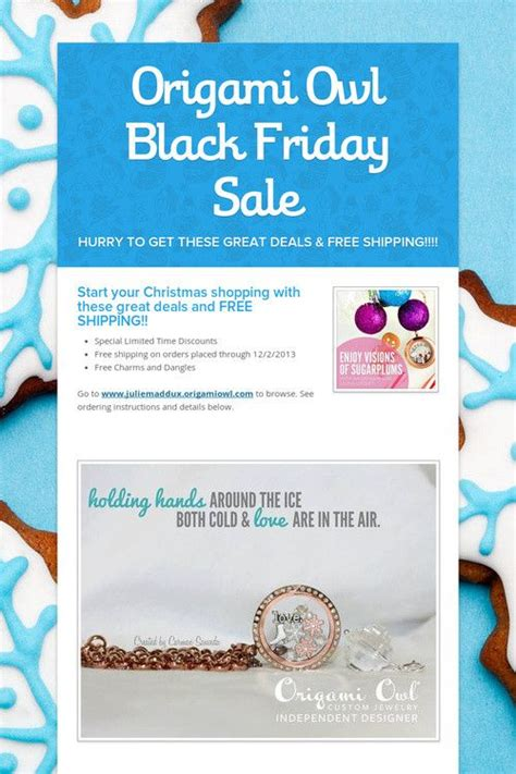 Origami Owl Black Friday Sale E2lockets Origamiowl