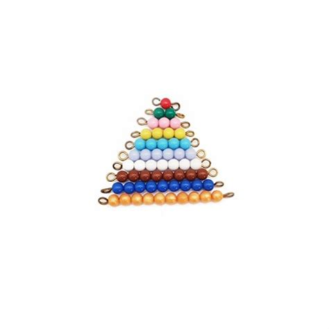 montessori bead stair montessori coloured stair