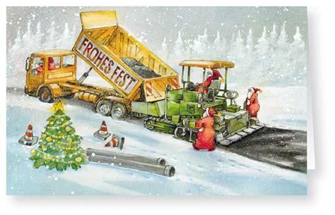 lkw weihnachtsbaum weihnachtskarte branchenkarte stra 223 enbau mit lkw