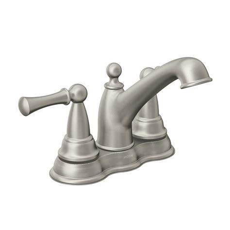 watersense kitchen faucet moen watersense bathroom sink faucet lowe s canada