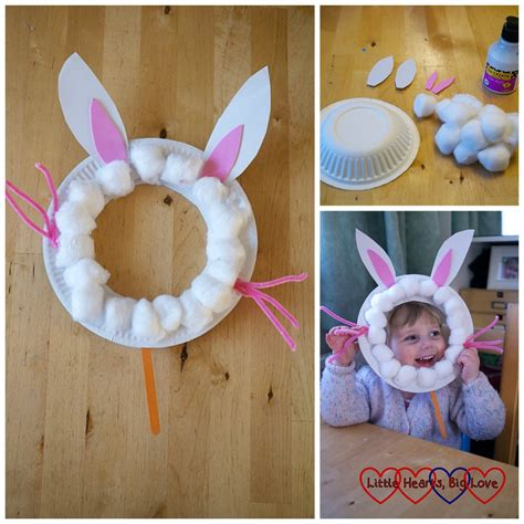 rabbit craft projects easter crafts for toddlers and preschoolers