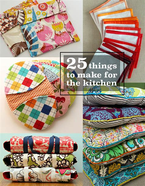 kitchen crafts for 25 things to sew for the kitchen andrea s notebook