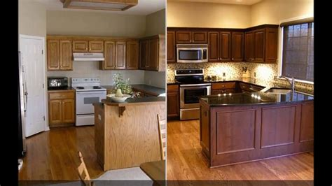 Cabinet Refacing by Kitchen Refacing Before And After Besto