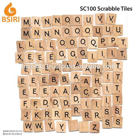 Wooden Scrabble Tiles Board Buy Scrabble Wooden