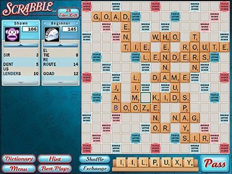 free scrabble scrabble driverlayer search engine
