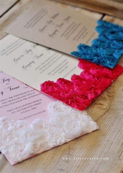 how to make handmade invitation cards craftaholics anonymous 174 10 tips for diy wedding