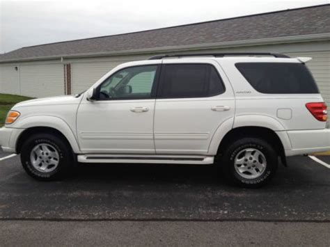 how cars run 2001 toyota sequoia electronic valve timing buy used 2001 toyota sequoia 4wd limited fully loaded low miles 8 passenger nice in