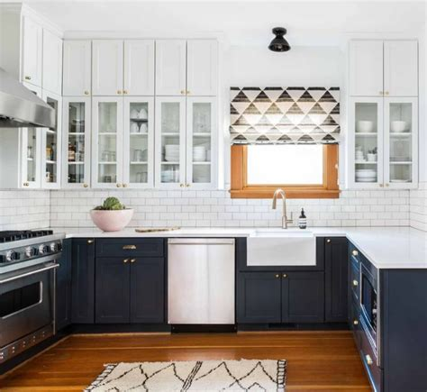 two color kitchen cabinets ideas 15 awasome two tone kitchen cabinets to make your space shine