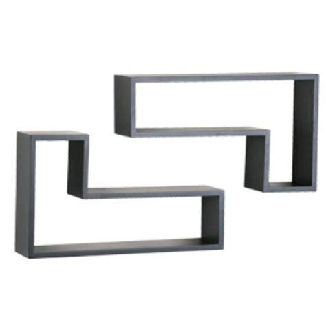 menards wall shelves black decorative l shape shelving pair at menards 174