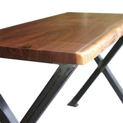 lie desk live edge wood furniture custommade